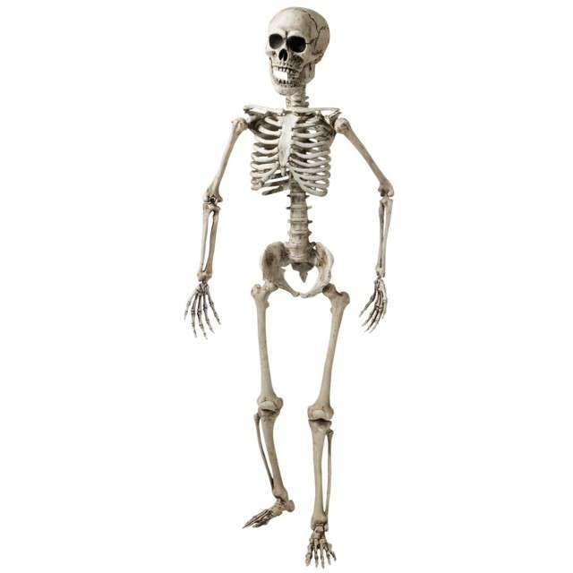 """Dekoracja """"Szkielet"""", WIDMANN, 160 cm"""