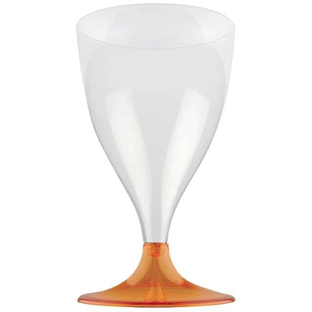 Kieliszki jednorazowe Wino Claassic pomarańczowe GoldPlast 200 ml 10 szt