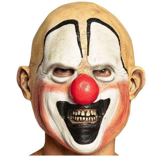 """Maska """"Klaun"""", lateksowa, BOLAND"""