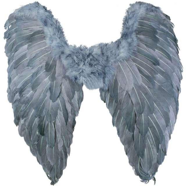 """Skrzydła """"Anioł Azazel"""", niebieskie, BOLAND, 65x65 cm"""