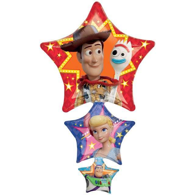 "Balon foliowy ""Toy Story 4"", AMSCAN, 41"" SHP"