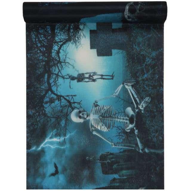 """Bieżnik """"Nawiedzony Cmentarz"""", SANTEX, 500 x 30 cm"""