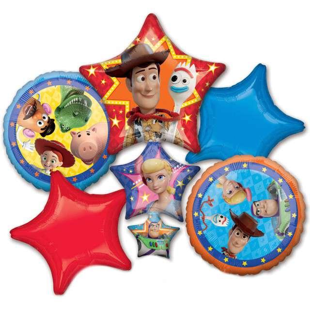 """Balon foliowy """"Toy Story 4"""", AMSCAN, zestaw"""
