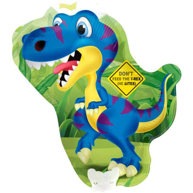 "Balon foliowy ""Dinozaur"", FOLAT, 13"", SHP"