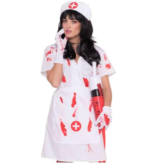 """Strój dla dorosłych """"Krwawa Pielęgniarka"""", FOLAT, rozm. M/L"""