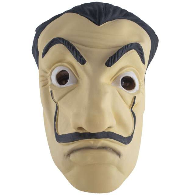 "Maska ""El Prosesor - Dom z Papieru"", lateksowa, Funny Fashion"