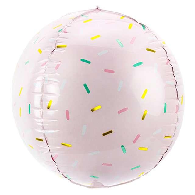 """Balon foliowy """"Kula - Posypka"""", PartyDeco, 16"""" ORB"""