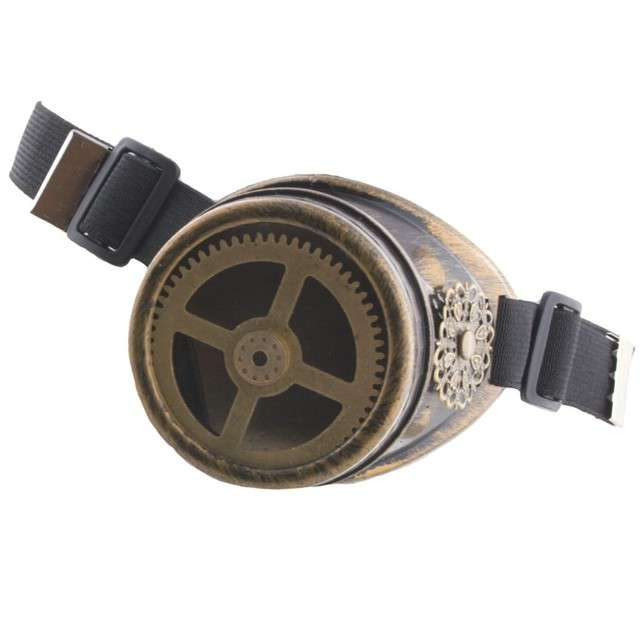 "Okulary party ""Monokl Steampunk"", FunnyFashion"