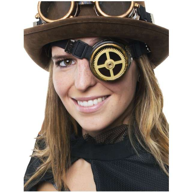 Okulary party Monokl Steampunk FunnyFashion