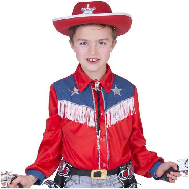 """Strój dla dzieci """"Bluza Kowboj"""", Funny Fashion, rozm. 164 cm"""