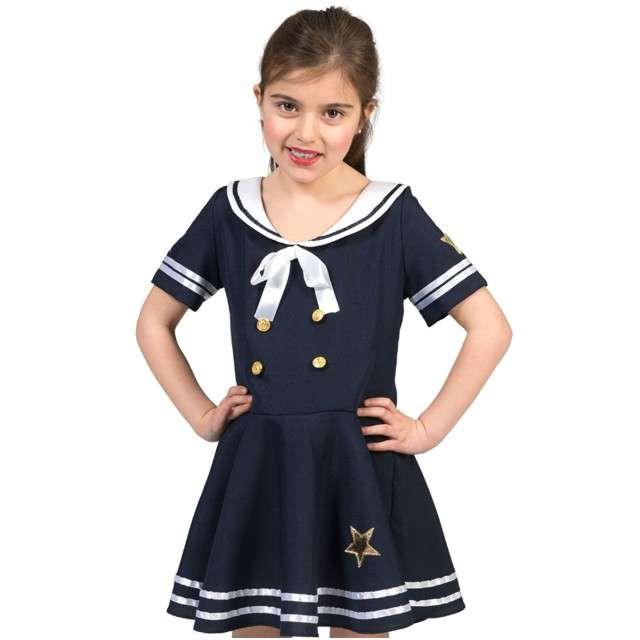 """Strój dla dzieci """"Marynarska Dziewczyna"""", Funny Fashion, rozm. 116 cm"""