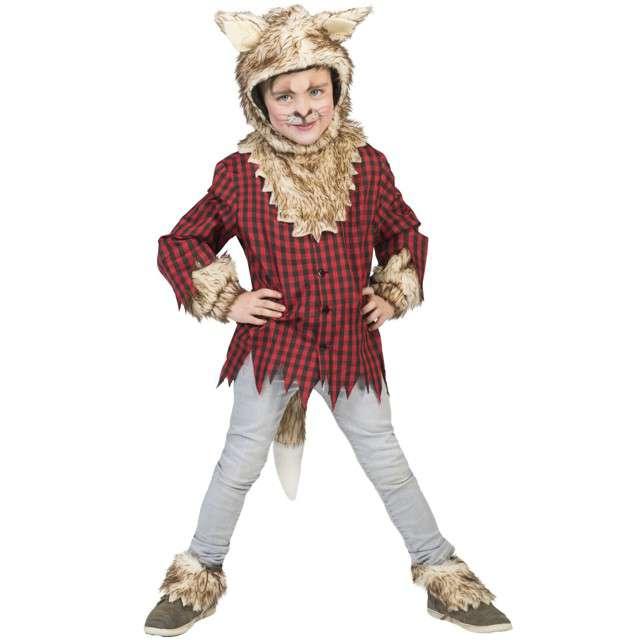 """Strój dla dzieci """"Wilkołak"""", Funny Fashion, rozm. 116 cm"""