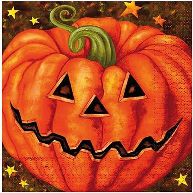"Serwetki ""Dynia Halloween"", FYASA, 33 cm, 20 szt"