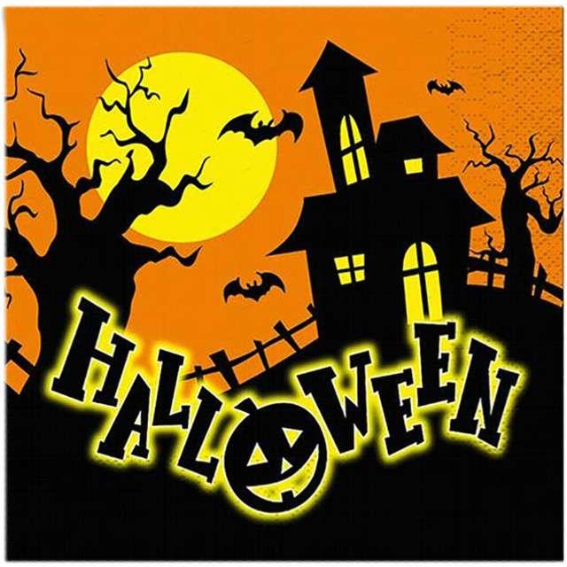 """Serwetki """"Halloween"""", FYASA, 33 cm, 12 szt"""