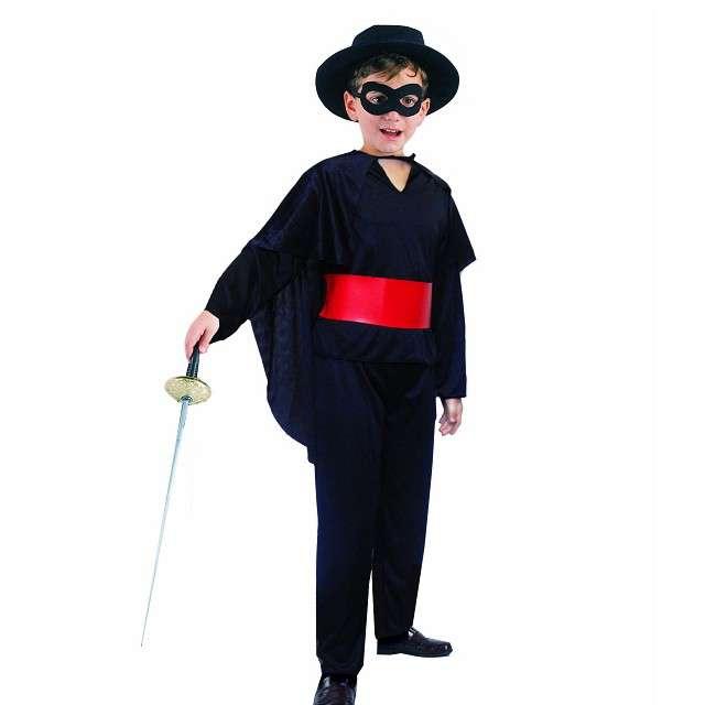"""Strój dla dzieci """"Zorro"""", GODAN, rozm. 130/140 cm"""