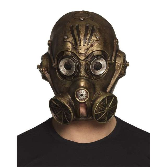 "Maska ""Steampunk"", lateksowa, BOLAND"