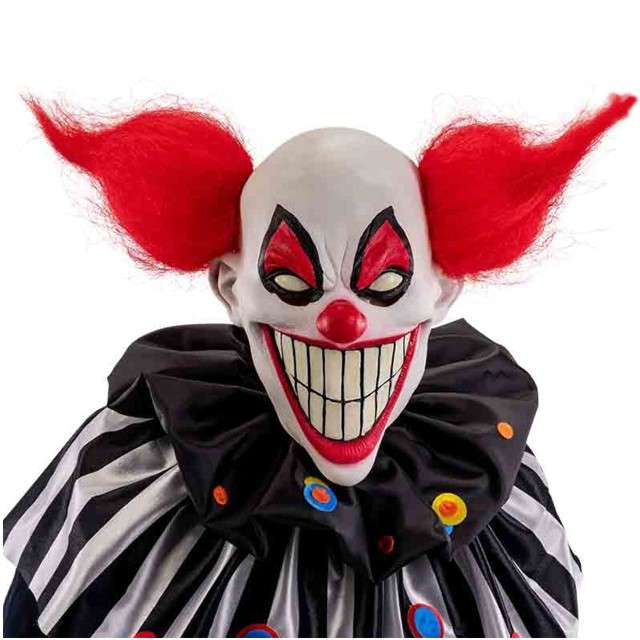 """Maska """"Klaun Szaleniec"""", lateksowe, Carnival Toys"""