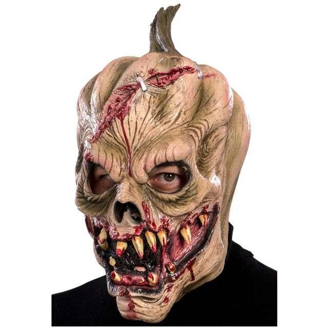 "Maska ""Dynia Zombie"", lateksowa, Carnival Toys"