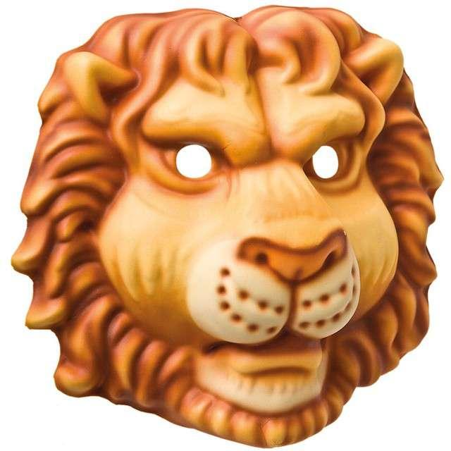 "Maska ""Lew"", piankowa, Carnival Toys"