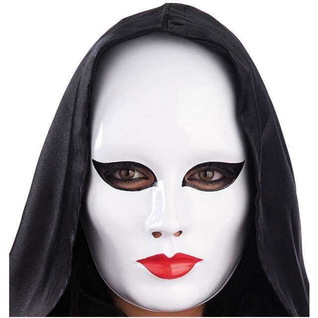"""Maska """"Fantom Kobieta"""", biały, Carnival Toys"""