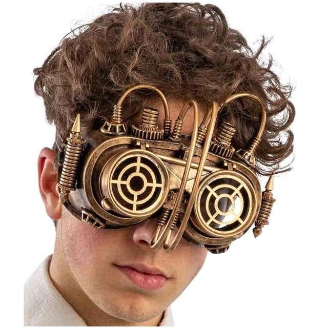 Maska Steampunk Mechanic Carnival Toys
