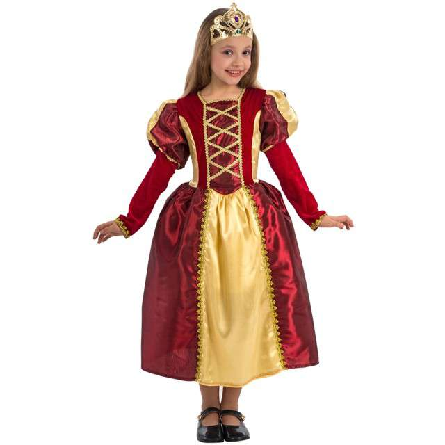 """Strój dla dzieci """"Królewna z Bordeaux"""", Carnival Toys, 8-9 lata"""