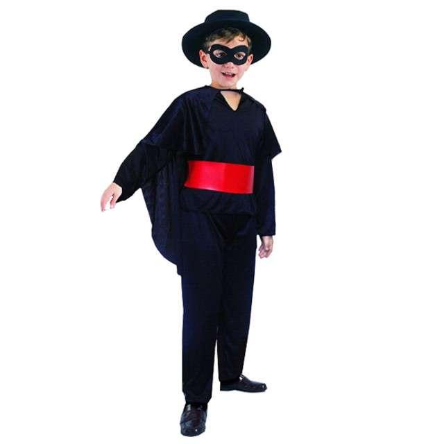 """Strój dla dzieci """"Zorro"""", GODAN, rozm. 120/130 cm"""