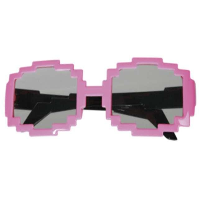 Okulary party Pixel Okrągłe OOTB