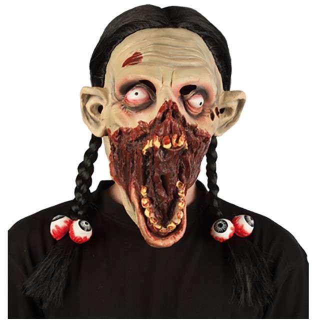 "Maska ""Zombie Dziewczyna"", lateksowa, FYASA"