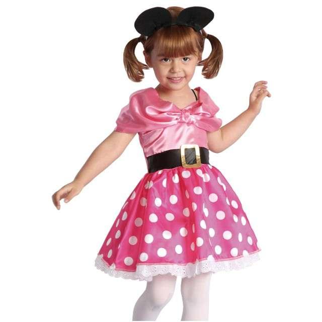 """Strój dla dzieci """"Myszka Minnie"""", GODAN, rozm. 92/104 cm"""