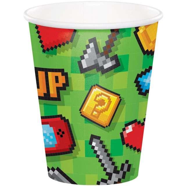Kubeczki papierowe Gaming Party CreativeConverting 266 ml 8 szt