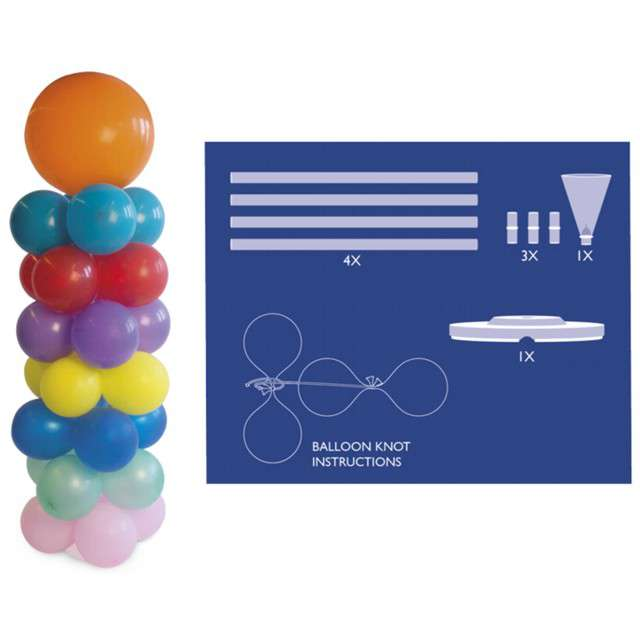 _xx_Balloon Pillar with Stake - 135cm