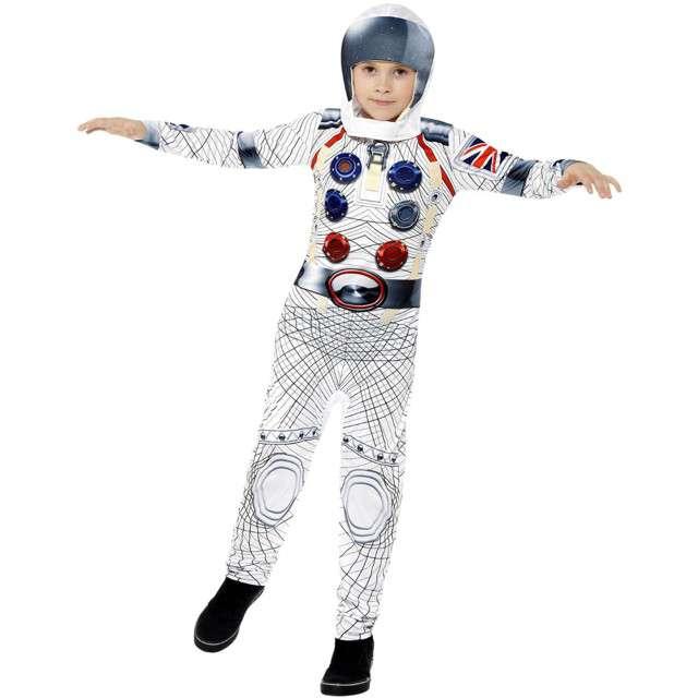 """Strój dla dzieci """"Kosmonauta"""", SMIFFYS, rozm. 7-9 lat"""