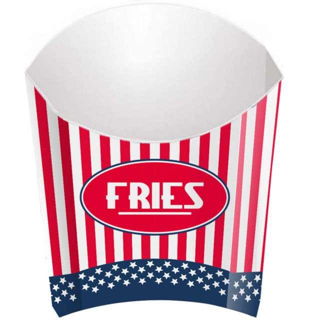 "Pudełka na popcorn ""USA Party"", FOLAT, 4 szt"