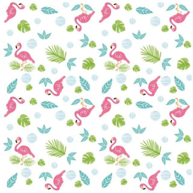 "Serwetki ""Flamingi"", GUIRCA, 33 cm, 20 szt"