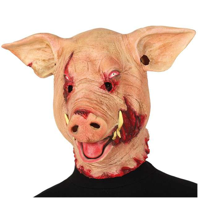 Maska Świnia - Krwawa lateksowa GUIRCA