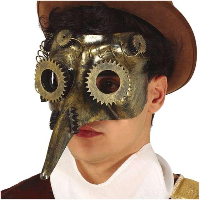 "Maska ""Dżuma - Steampunk"", plastikowa, GUIRCA"