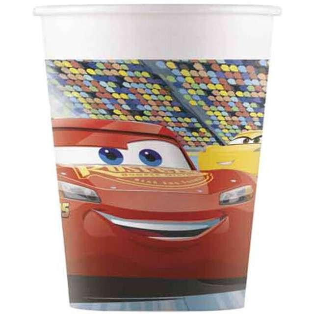 """Kubeczki papierowe """"Cars 3"""", PROCOS, 200 ml, 8 szt"""