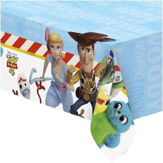 """Obrus foliowy """"Toy Story 4"""", PROCOS, 180x120 cm"""