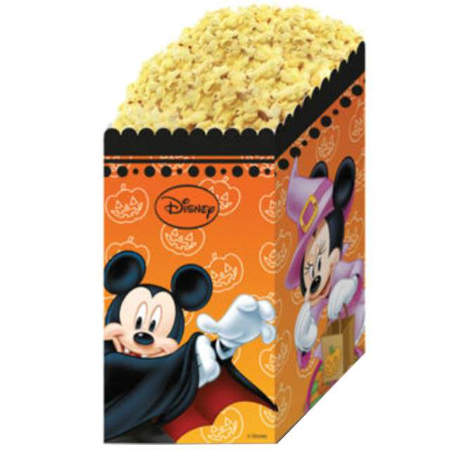 Pudełka na popcorn Myszka Mickey Halloween PROCOS 4 szt