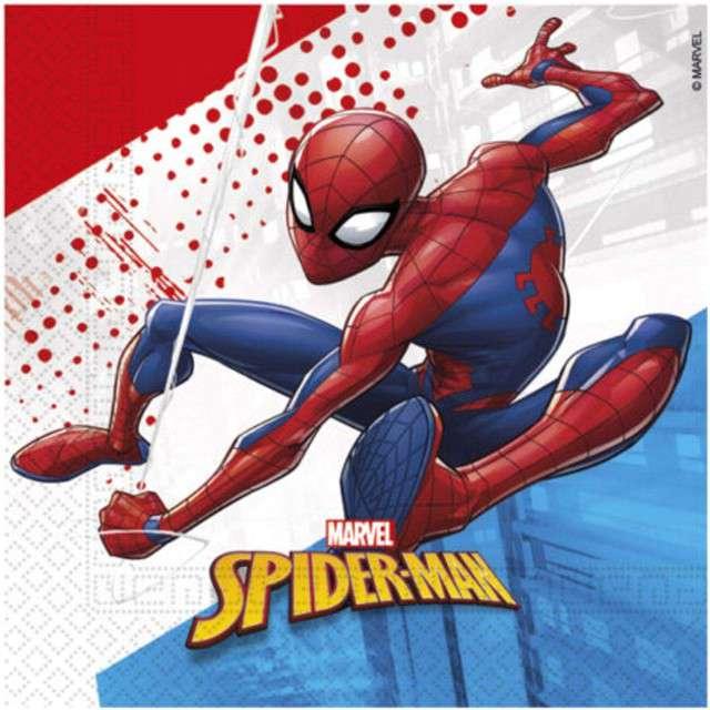 "Serwetki  ""Spiderman - Super Hero"", PROCOS, 33 cm, 20 szt"