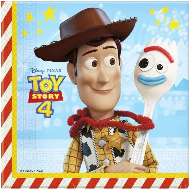 """Serwetki """"Toy Story 4"""", PROCOS, 33 cm, 20 szt"""