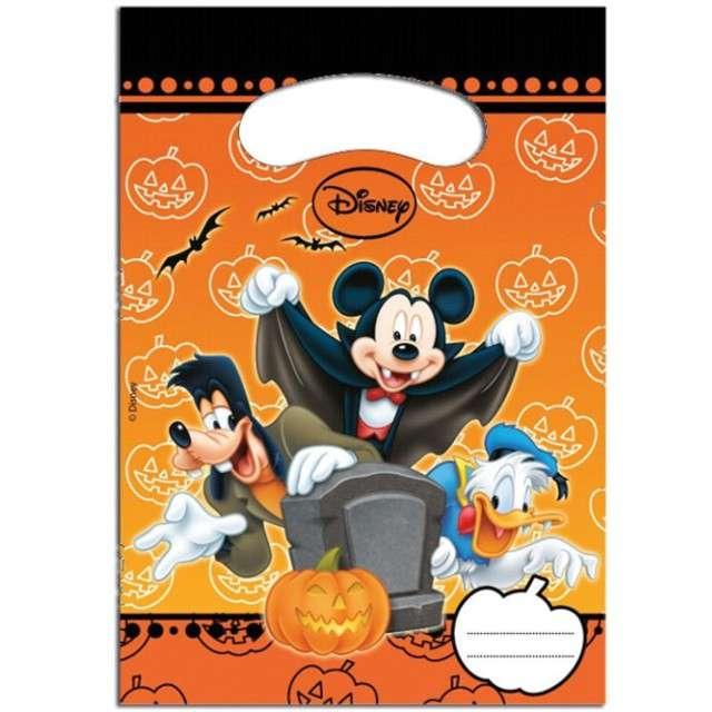 """Torebki foliowe """"Myszka Mickey Halloween"""", PROCOS, 6 szt"""