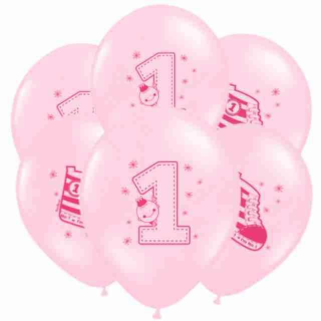 "Balony 14"", ""Trampek 1"", STRONG, Pastel Baby Pink, 6 szt"