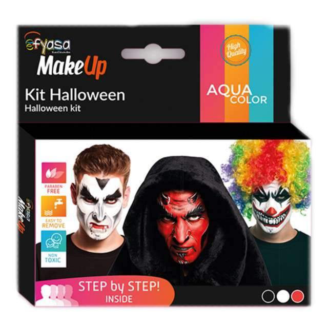 Make-up party Halloween FYASA
