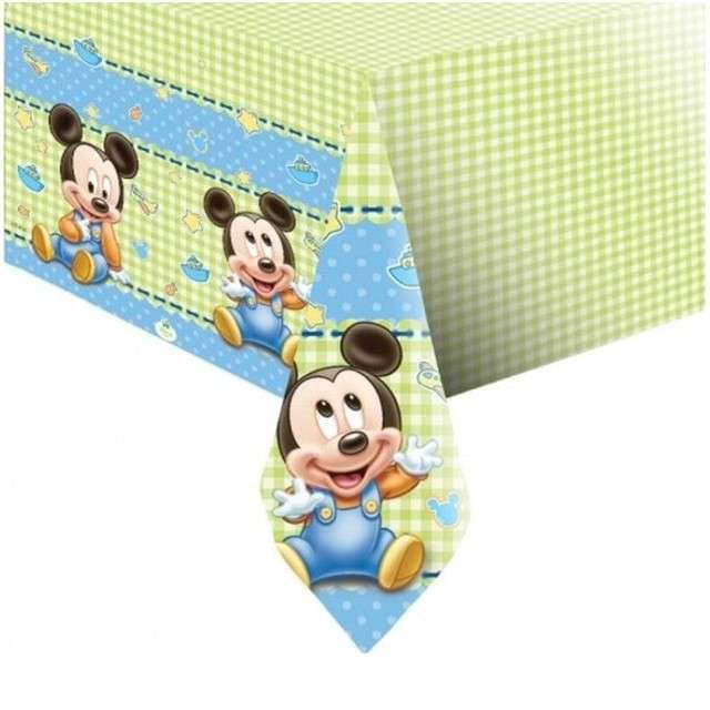 """Obrus foliowy """"Mickey Baby"""", PROCOS, 180x120 cm"""