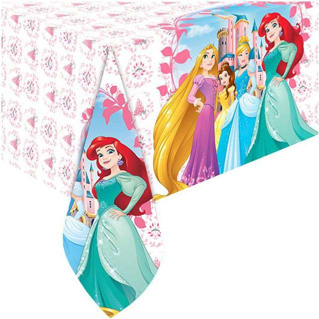 "Obrus foliowy ""Princess - Heart Strong"", PROCOS, 180x120 cm"