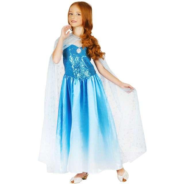 """Strój dla dzieci """"Błękitna Księżniczka"""", GODAN, rozm. 120/130 cm"""