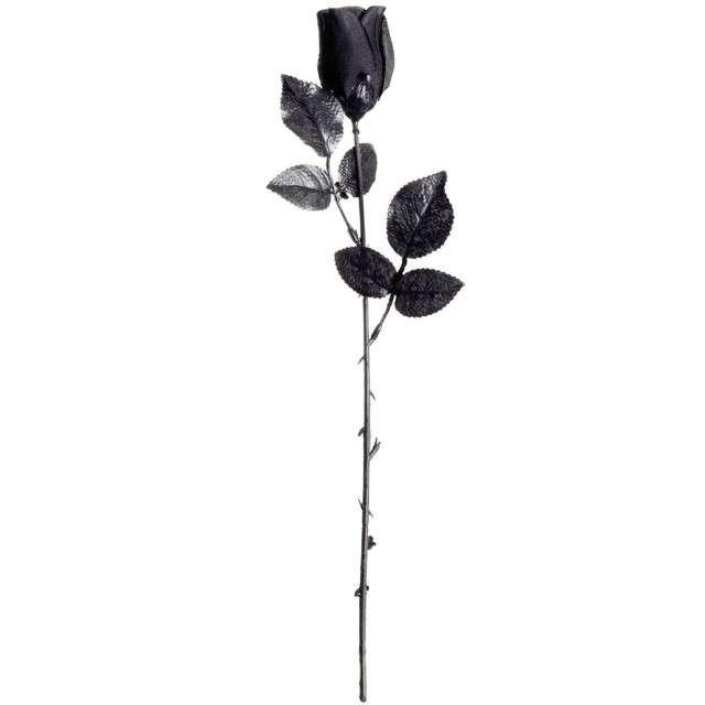 """Dekoracja """"Róża"""", czarny, WIDMANN"""