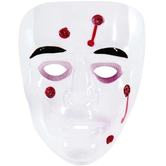 """Maska """"Przestrzelony"""", plastikowa, WIDMANN"""